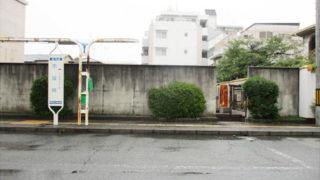 尼崎市七松墓地の墓地内写真