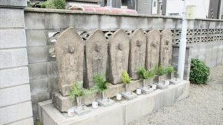 尼崎市若王寺霊園の園内画像