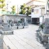 尼崎市常光寺墓地の墓地内写真
