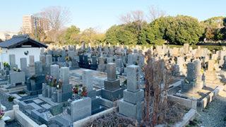 尼崎市戸ノ内墓地のお墓の写真